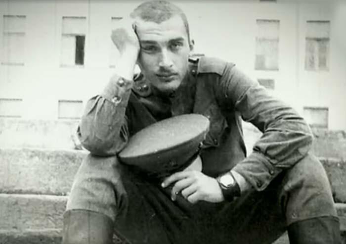 Александр Друзь в армии