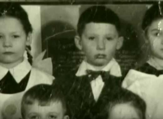 Александр Друзь в детстве