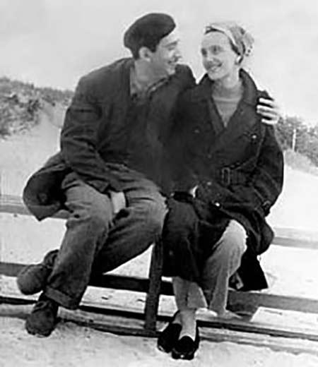 Александр Галич и Ангелина Шекрот