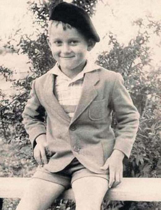 Александр Маршал в детстве