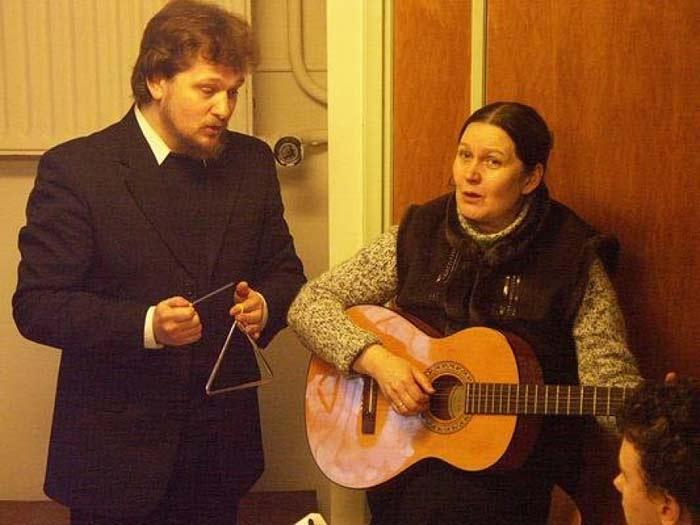 Александр Михайлов и жена Елена 2