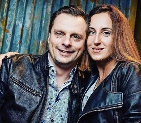 Александр Носик и жена Ольга