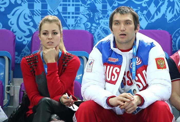 Александр Овечкин и Мария Кириленко
