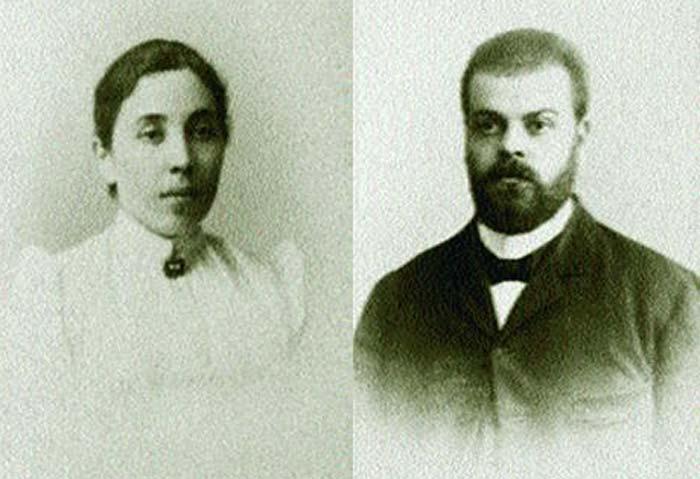 Александр Парвус и Татьяна Берман