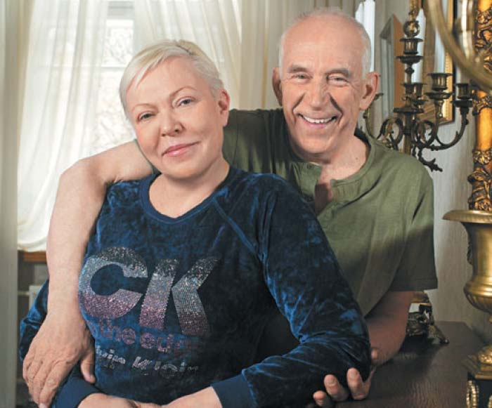 Александр Пашутин и жена Люба