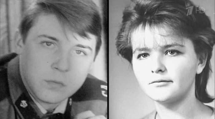 Александр Семчев и первая жена Юлия Панова