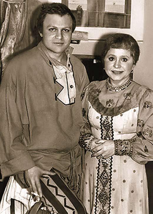 Александр Соловьёв и Людмила Гнилова 2