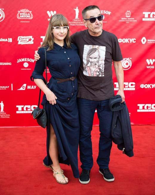 Алексей Горбунов и дочь Анастасия