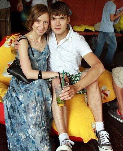 Алексей Коряков и жена Наталья