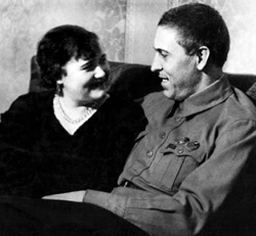 Алексей Стаханов и жена Галина