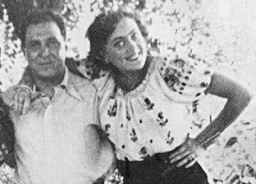 Алла Баянова и Георгий Ипсиланти