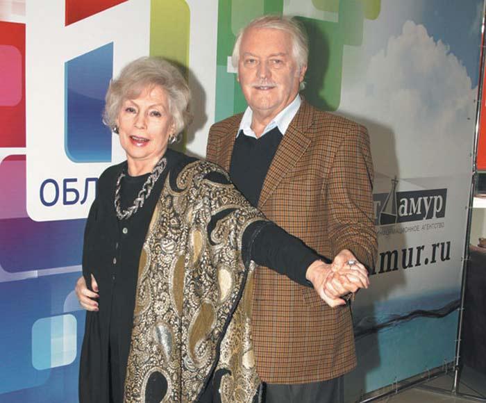Алла Будницкая и муж Александр Орлов
