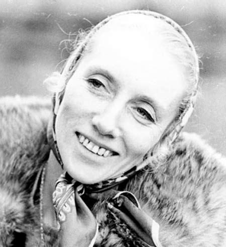 Алла Осипенко вторая жена Геннадия Воропаева