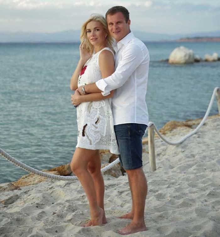 Анастасия Трегубова с мужем 2