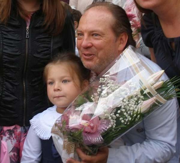 Андрей Федорцов с дочерью Варей