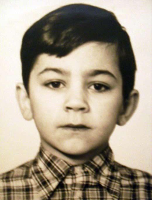 Андрей Карако в детстве