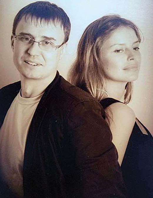 Анна Табанина и Дмитрий Кудин