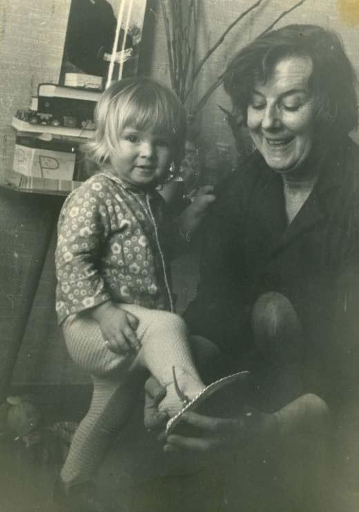 Анна Терехова с бабушкой Галиной Станиславовной Томашевич