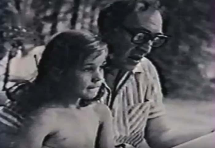 Анна Тихонова и отец Вячеслав Тихонов 3