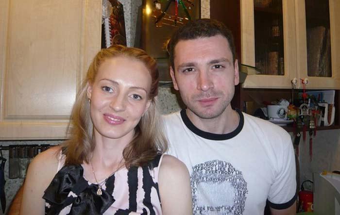 Антон Хабаров и жена Елена