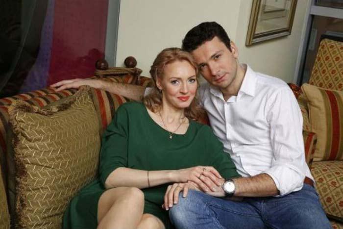 Антон Хабаров и жена Елена 2