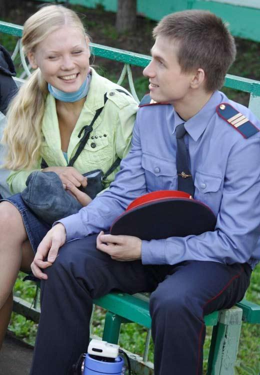 Евгений Антропов и Анастасия Безбородова