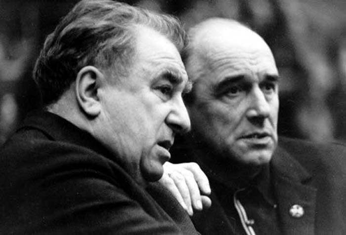 Аркадий Чернышев и Анатолий Тарасов
