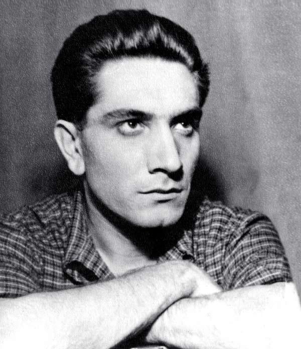 Армен Джигарханян в молодости