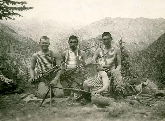 Артём Шейнин в армии 2