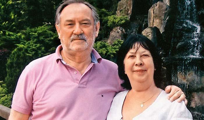 Богдан Ступка и жена Лариса 3