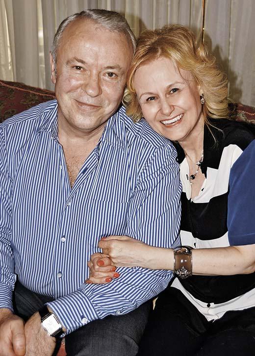 Дарья Донцова и муж Александр