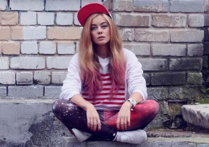 Дарья Шашина в юности