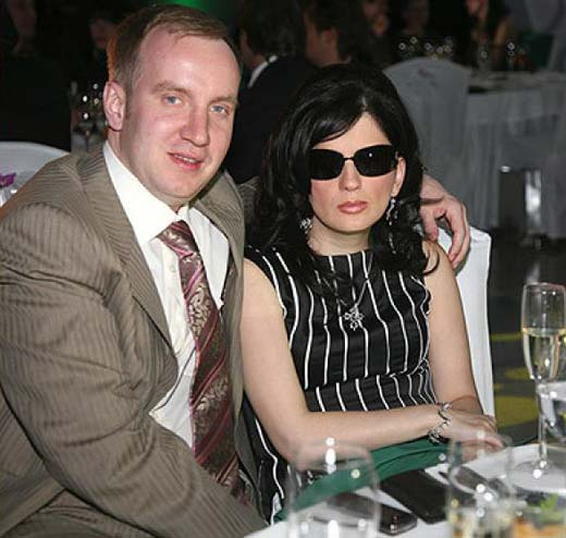Диана Гурцкая и муж Петр Кучеренко
