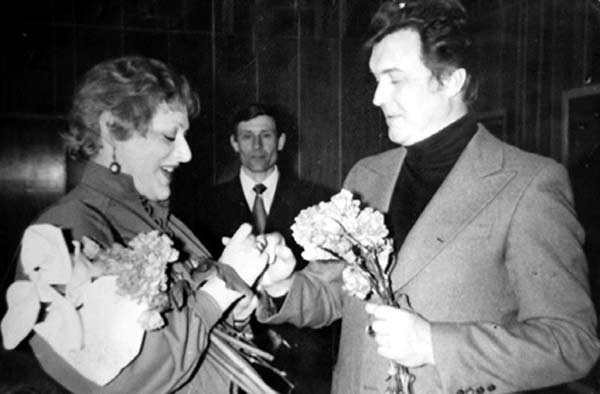 Эдуард Изотов и Ирина Ладыженская