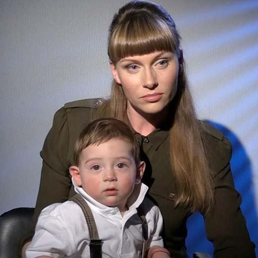 Екатерина Ифтоди с сыном Бориса Немцова