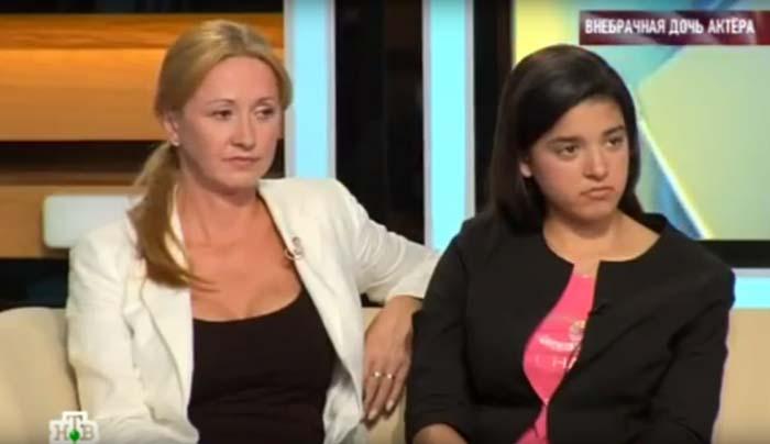 Елена Аптус и дочь Эвелина