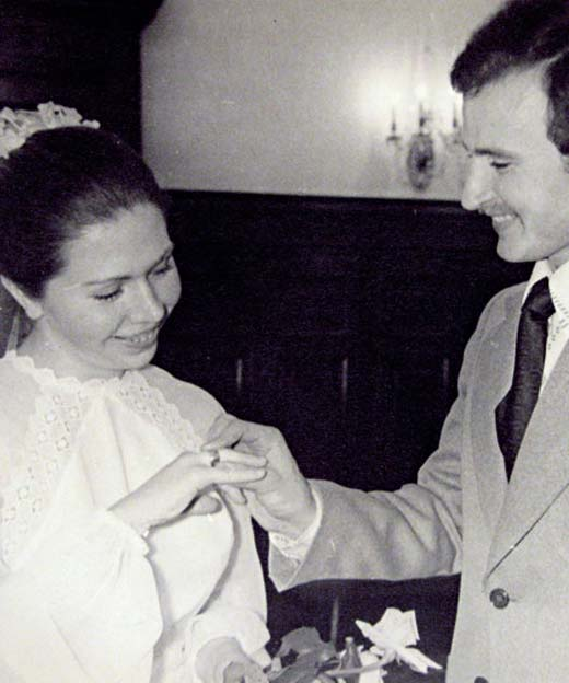 Елена Папанова и муж Юрий Титов