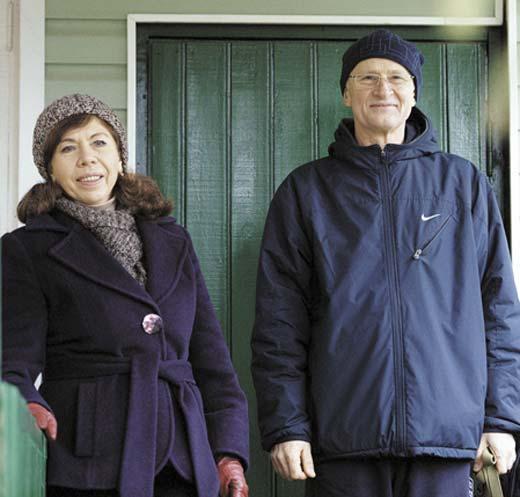 Елена Папанова и муж Юрий Титов 2