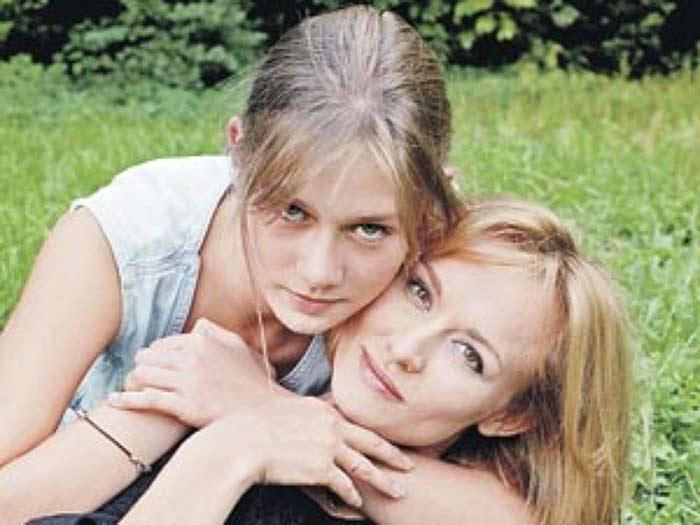 Елена Шевченко и дочь Мария