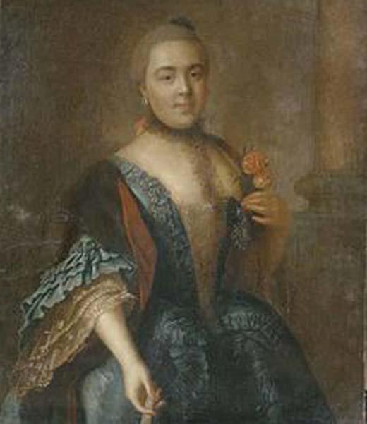 Елизавета Воронцова любовница Петра III
