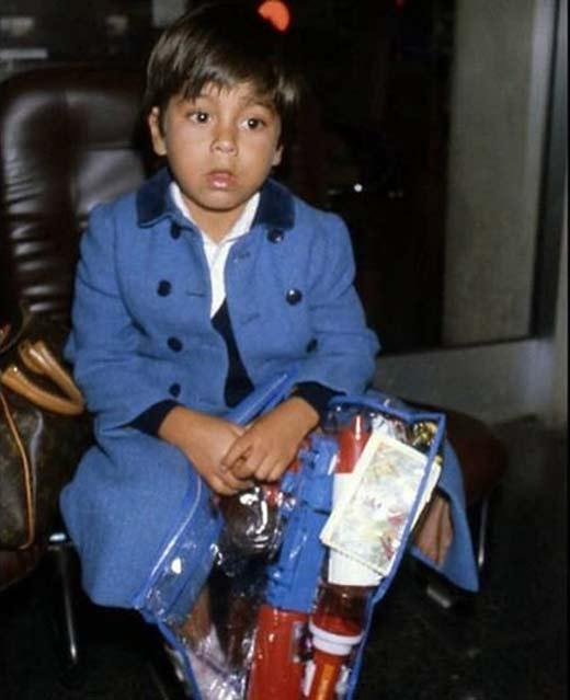 Энрикe Иглесиас в детстве