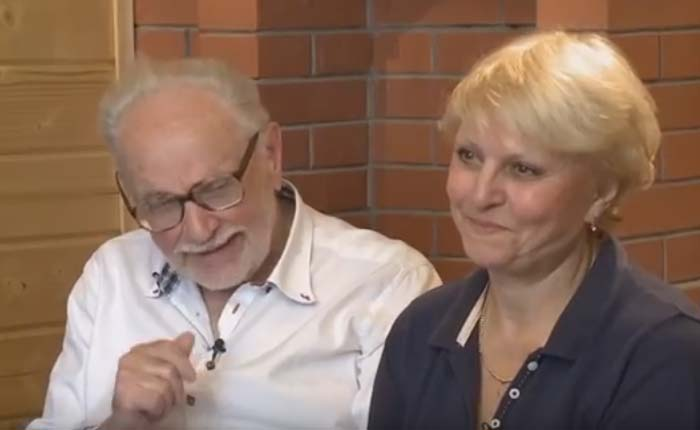 Эрнст Романов и жена Лейла Киракосян