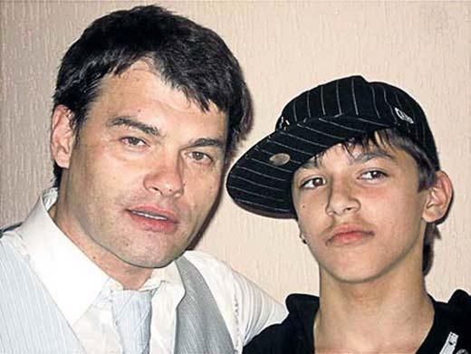 Евгений Дятлов и сын Фёдор
