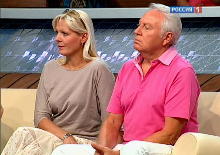 Eвгений Кочергин и дочь Наталия