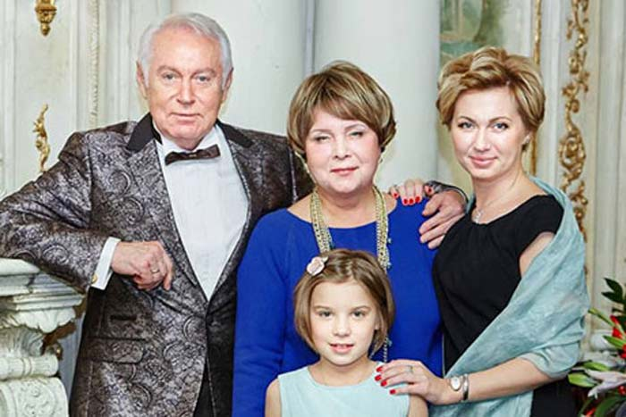 Eвгений Кочергин жена дочь Ирина внучка