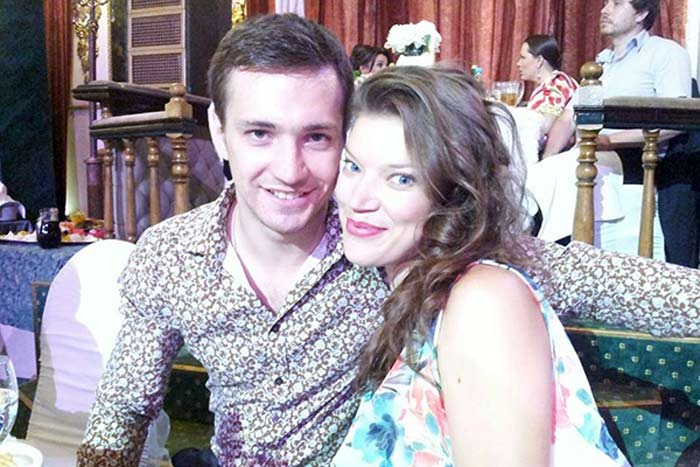 Евгений Шириков и жена Леонора