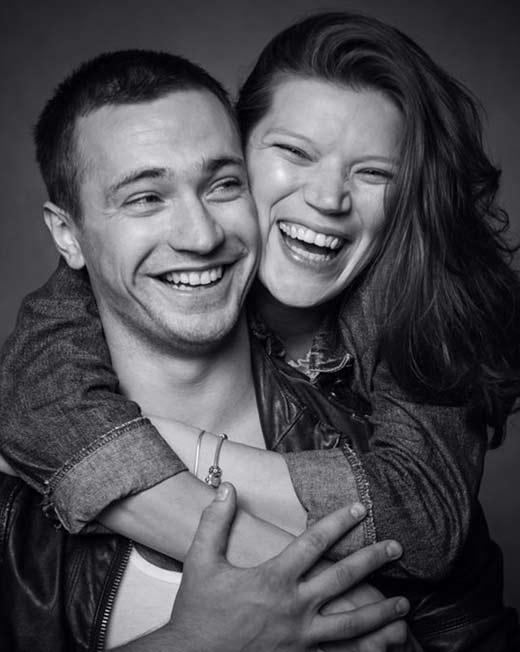 Евгений Шириков и жена Леонора 2