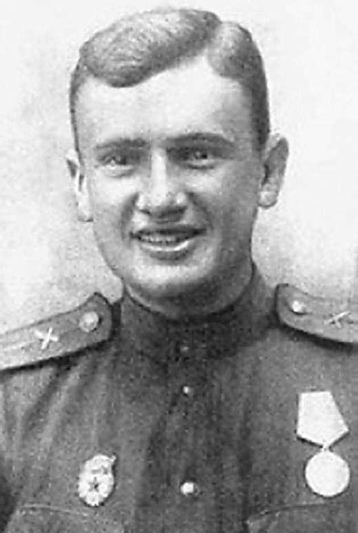 Евгений Весник во время войны