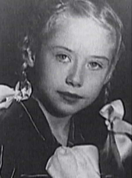 Евгения Ханаева в детстве