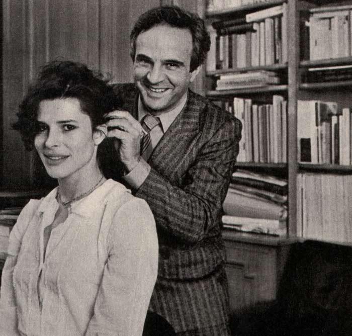 Фанни Ардан и Франсуа Трюффо